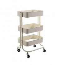 3 Tier Multi-function Mobile Kitchen Trolley