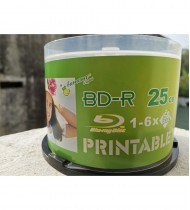 Blu ray Disc Banana BD-R 25GB 1-6X 50 Pack BULK