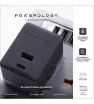 Charger powerology ultra Quick PD With Dual Ports