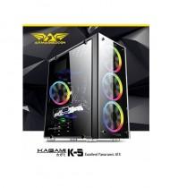 Gaming PC Case Armaggeddon Kagami K5 Full Tempered Glass
